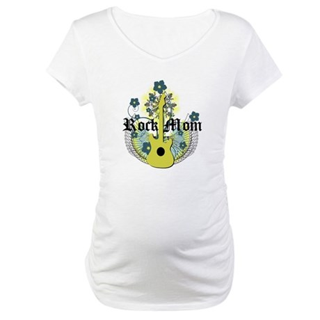 Rock Mom Maternity T-Shirt