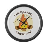 """S'more Fun"" Large Wall Clock"