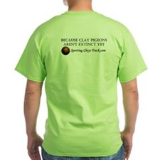 Sporting Clays Track T-Shirt (green)