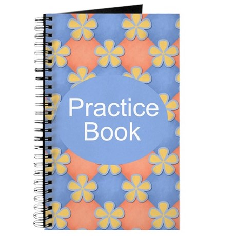 Music Practice Notebook Journal