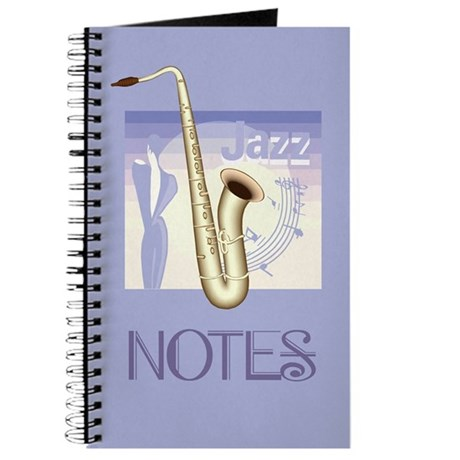 Stylish Jazz Music Journal Notebook
