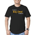 Scott Designs Big Deal Men's Fitted T-Shirt (dark)