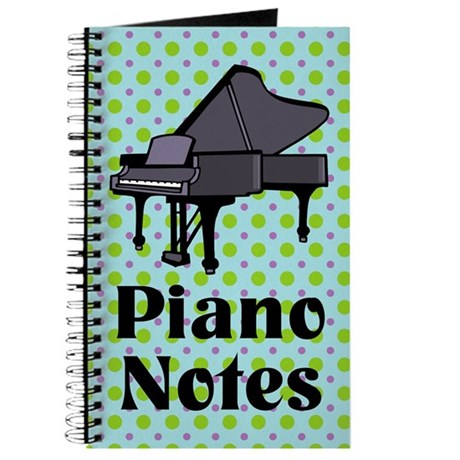 Fun Piano Music Practice Notebook