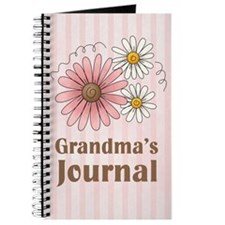 Pretty Pink Grandma's Journal