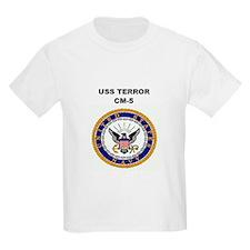 USS TERROR Kids T-Shirt