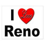 I Love Reno Nevada Small Poster