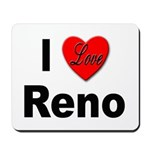 I Love Reno Nevada Mousepad
