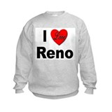 I Love Reno Nevada (Front) Sweatshirt