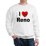 I Love Reno Nevada (Front) Sweatshirt