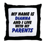 my name is dianna and I live with my parents Throw