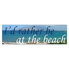Beautiful Beach Stickers