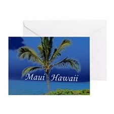 Maui Hawaii Greeting Card