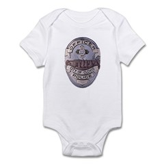 Clovis Police Infant Bodysuit