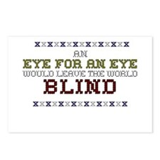 An Eye For An Eye Postcards (Package of 8)