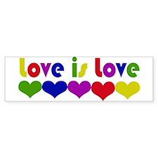 Love is Love Bumper Bumper Sticker