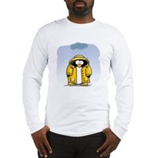 Rainy Day Penguin Long Sleeve T-Shirt