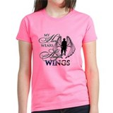 My Hero Wears Angel Wings Tee