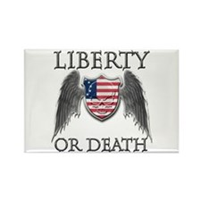 Liberty or Death Rectangle Magnet