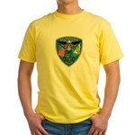 Valaparaiso Police Yellow T-Shirt