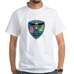 Valaparaiso Police White T-Shirt