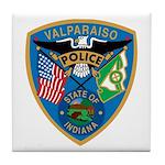 Valaparaiso Police Tile Coaster