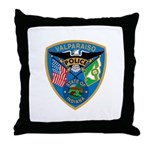 Valaparaiso Police Throw Pillow