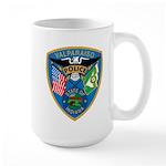 Valaparaiso Police Large Mug
