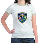 Valaparaiso Police Jr. Ringer T-Shirt