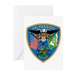 Valaparaiso Police Greeting Cards (Pk of 20)
