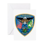 Valaparaiso Police Greeting Card