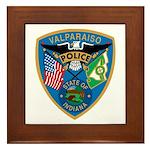 Valaparaiso Police Framed Tile