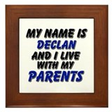 my name is declan and I live with my parents Frame