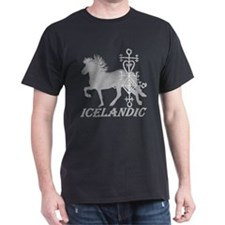 Icelandic Love Black T-Shirt
