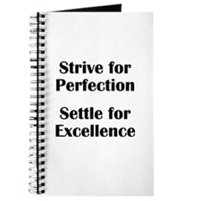 Strive for Perfection, Settle Journal
