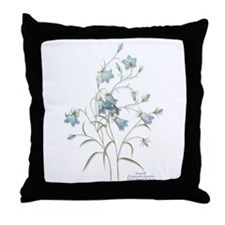 Harebells Throw Pillow