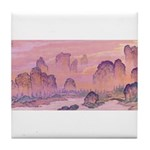 Karst Mountains Tile Coaster