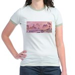 Karst Mountains Jr. Ringer T-Shirt
