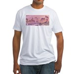 Karst Mountains Fitted T-Shirt