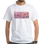 Karst Mountains White T-Shirt