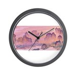 Karst Mountains Wall Clock