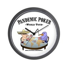 Funny Bird flu Wall Clock