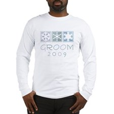 Winter Groom 2009 Long Sleeve T-Shirt
