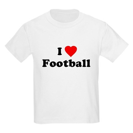 I Love [Heart] Football Kids T-Shirt