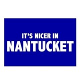 """Nicer in Nantucket"" Postcards (Package of 8)"