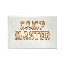 Camp Master Rectangle Magnet (10 pack)