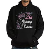 21st Birthday Princess Hoodie