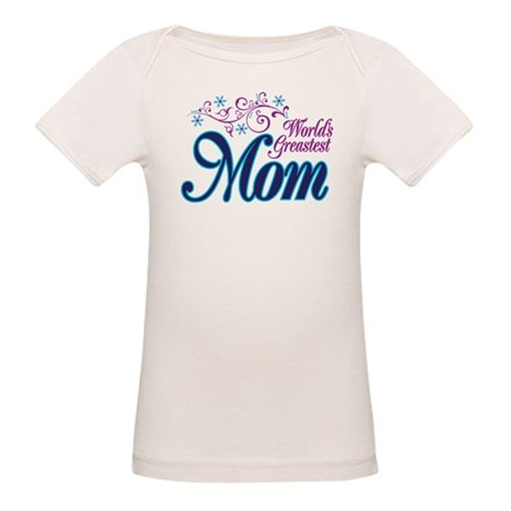 World's Greatest MOM Organic Baby T-Shirt