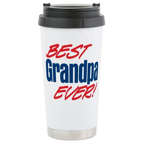 Best Grandpa Ever! Ceramic Travel Mug
