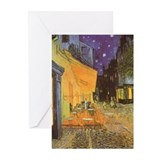 Van Gogh Cafe Terrace Greeting Cards (Pk of 10)
