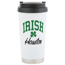 Houston Irish Ceramic Travel Mug